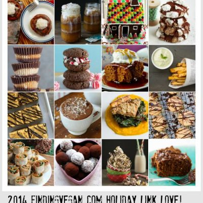 The Best Roundup of Vegan Holiday Recipes by Finding Vegan Bloggers!