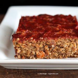 lentil quinoa loaf
