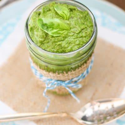 Spinach Tahini Pesto