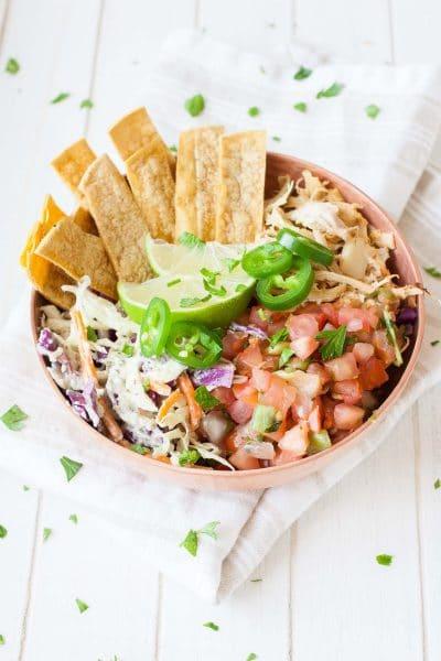 Vegan Fish Taco Bowl from Vegan Bowl Attack
